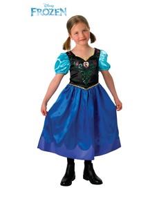 Anna Kostüm aus Frozen für Mädchen