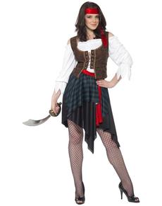Piratin Kostüm Classic