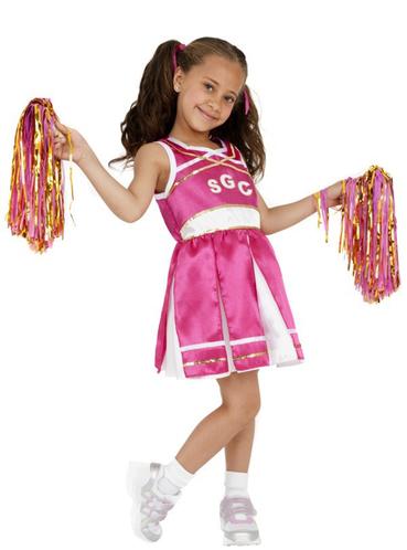 cheerleader kost m rosa f r m dchen online kaufen preis. Black Bedroom Furniture Sets. Home Design Ideas