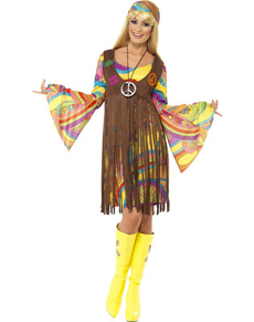 Kostüm Hippie Frau der 60er