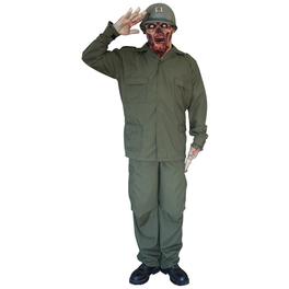 Zombie Soldaten Kostüm Deluxe