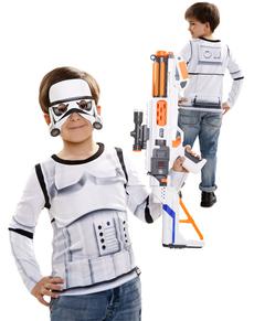 Hyperrealistische Stormtrooper T-Shirt für Jungen