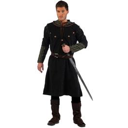 Kostüm mittelalterlicher Krieger Rodrigo deluxe